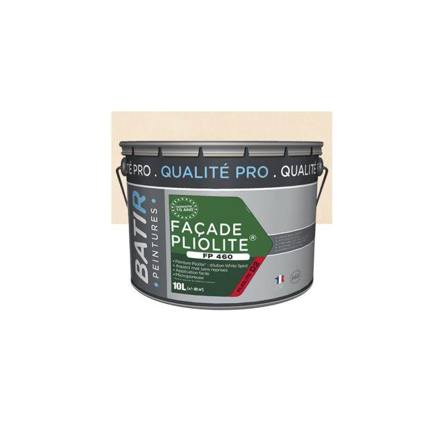 Batir Peintures Peinture Pliolite Mat Pour Façade 10 L Ton