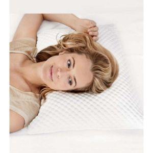 tempur oreiller ergonomique cloud 63x63 pas cher achat. Black Bedroom Furniture Sets. Home Design Ideas