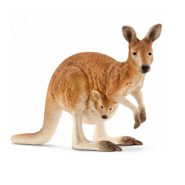 Schleich - Figurine kangourou - pas cher Achat   Vente Animaux ... 529e8a8d3b0