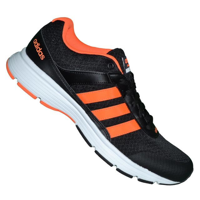 Adidas Neo - Basket Running - Cloudfoam Vs City Aq1341 - Noir Orange Neon 45 - pas cher Achat / Vente Baskets homme - RueDuCommerce