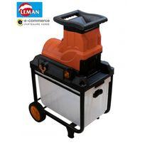 Leman - Déstockage - Broyeur végétaux électrique 2800W 45mm - Lobre045