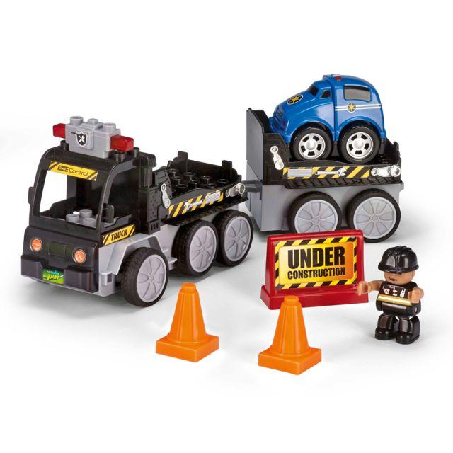 REVELL RC-Junior Camion Dépannage REVELL CONTROL JUNIOR : Une gamme RC pour les plus petits. A partir de 3 ans. Quelques accessoires à monter rapidement. Ludique (pas de batteries) et simple d'utilisation