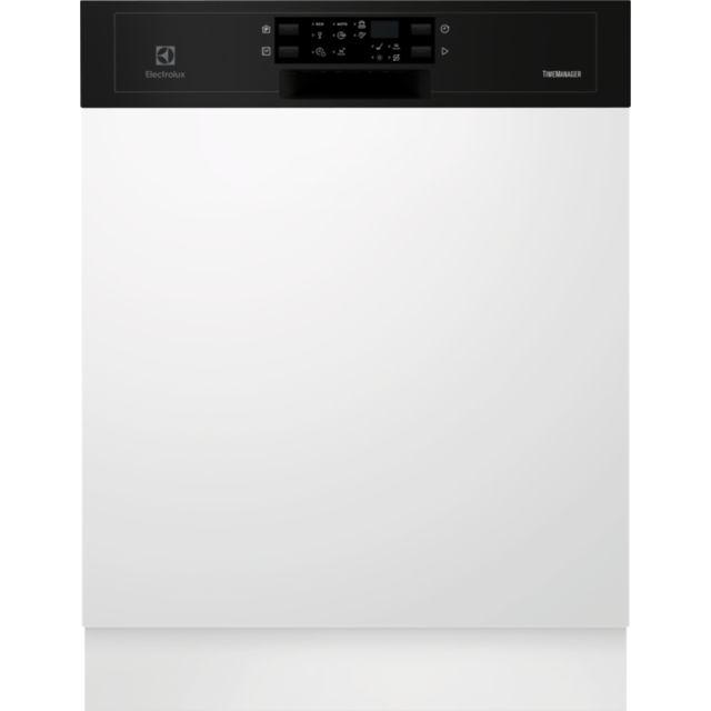 ELECTROLUX lave-vaisselle 60cm 13c 44db a++ intégrable avec bandeau noir - esi5543lok