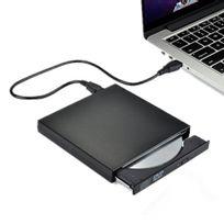 Alpexe - Lecteur/ Graveur ,Graveur Cd Dvd externe, Lecteur enregistreur graveur dvd compatible avec Apple Mac Os : MacBook, MacBook Pro, MacBook Air, Windows 2000/ME/XP/Vista/Windows7 et d'autres ordinateurs portables/ de bureau