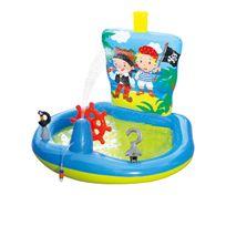 CARREFOUR - Aire de jeu gonflable pour enfants, thème pirate - OD99374