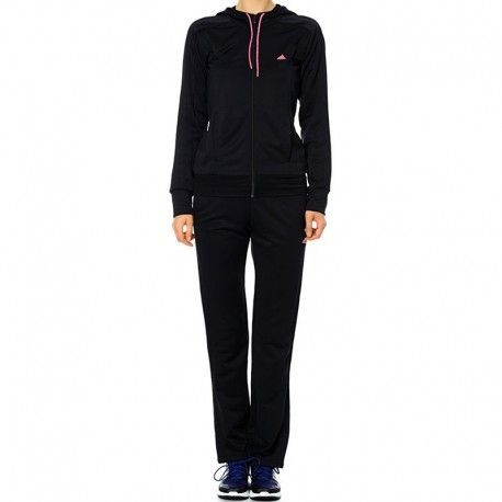 Adidas originals - Survêtement New Young Knit Noir Femme Adidas ... d6b365e8673
