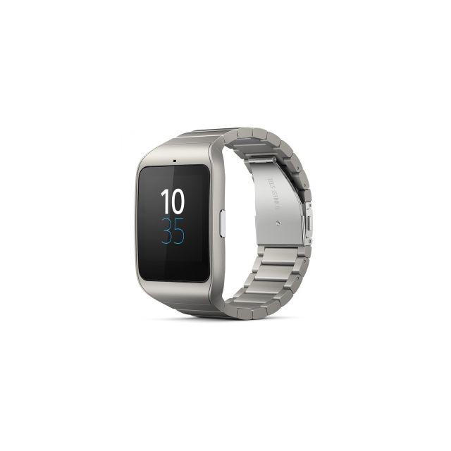 prix spécial pour une autre chance plusieurs couleurs Sony - SmartWatch 3 Montre connectée bracelet en Métal pour ...