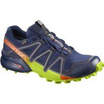 Homme Speedcross 4 GTX Chaussure de Course à Pied et Trail Running, Synthétique/Textile, Vert, Pointure: 47 1/3Salomon