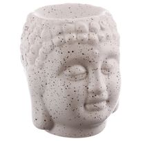 Atmosphera - Brûle parfum en céramique - Bouddha - Beige