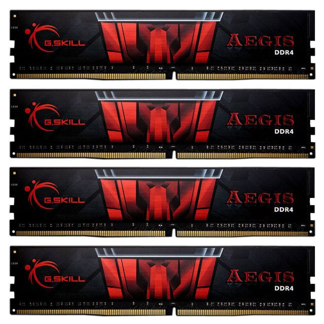 G.SKILL Aegis Gaming Series 32 Go 4 x 8 Go DDR4 2133 Mhz Cas 15