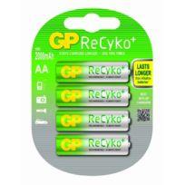Gp - Recyko + 210AAHCBE-2UWC4 Pack de 4 Piles Rechargeables 2100 mAh Aa