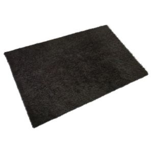 Mcd lilou tapis de salon shaggy fil fin brillant 100 polyester meches 40 - Tapis shaggy brillant ...