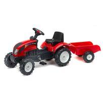 Falk - Tracteur Ranch à pédale et remorque - 2051A