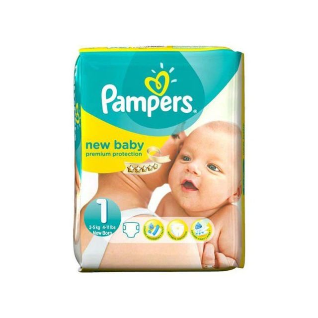 Marque generique pack 56 couches pampers new baby taille 1 pas cher achat vente couches - Couches pampers taille 1 ...