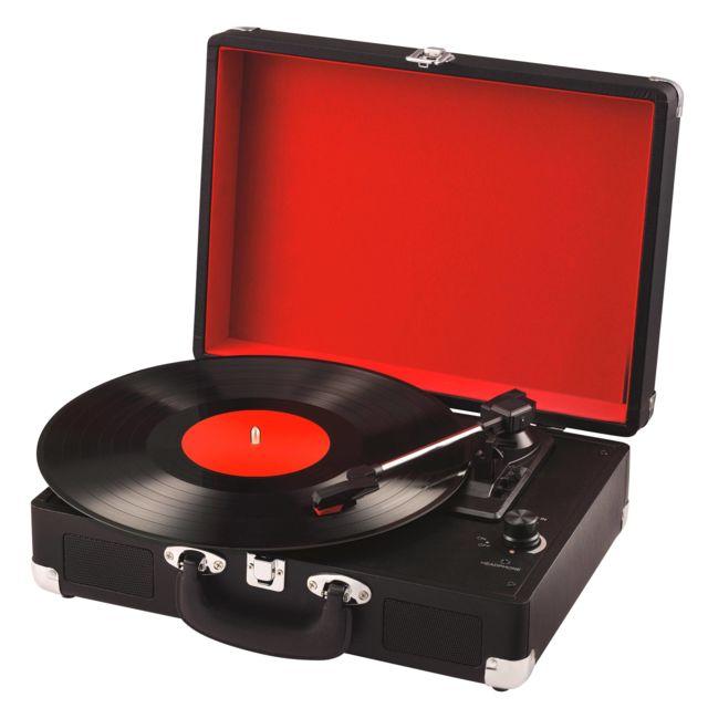 bluesky platine vinyle bbtr30 noir pas cher achat vente platine rueducommerce. Black Bedroom Furniture Sets. Home Design Ideas
