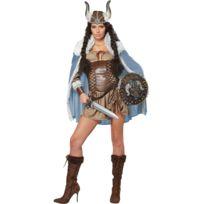 California costume - Déguisement Guerrière Viking - Taille : L - 40/42