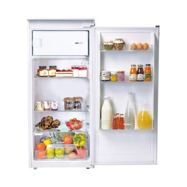 CANDY réfrigérateur 1 porte intégrable à glissière 54cm 179l a+ - cfbo2150n