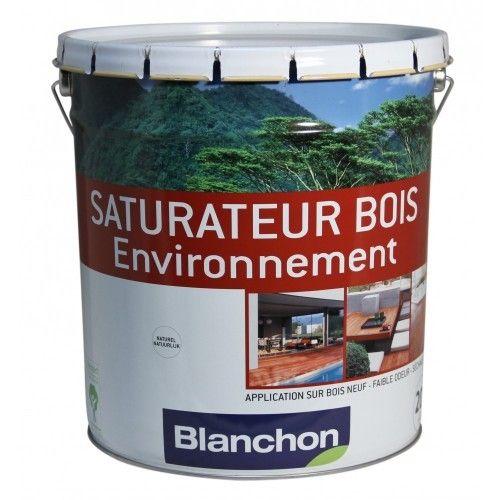 blanchon saturateur bois ext rieur ext rieur 5 litres bois naturel environnement pas. Black Bedroom Furniture Sets. Home Design Ideas