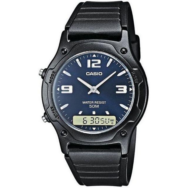 Casio Aw 49HE 2AVEF Chronographe Chronographe pas  xQHLW