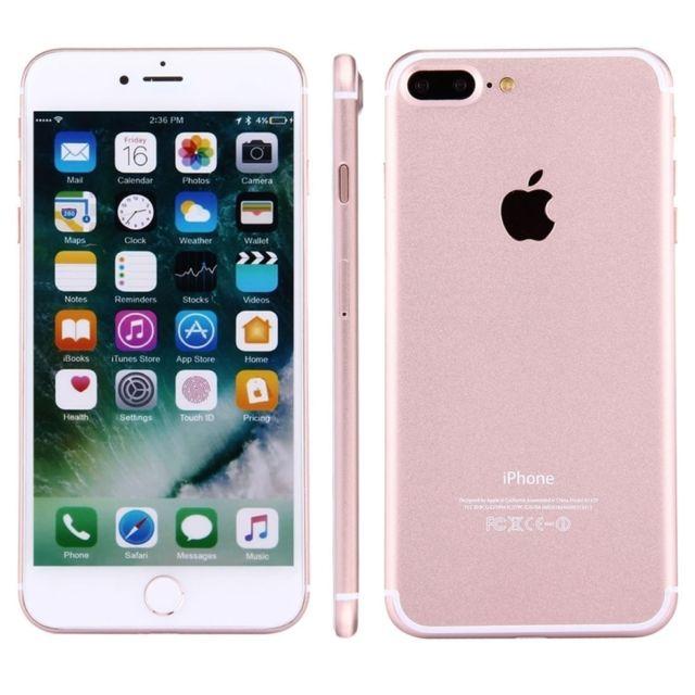 Wewoo Pour Iphone 7 Plus Factice Faux Or Rose Ecran Couleur Ne