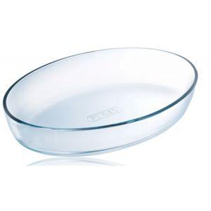 pyrex plat ovale 25cm verre 222b000 5046 verre transparent 25cm x 0cm x 17cm pas cher. Black Bedroom Furniture Sets. Home Design Ideas