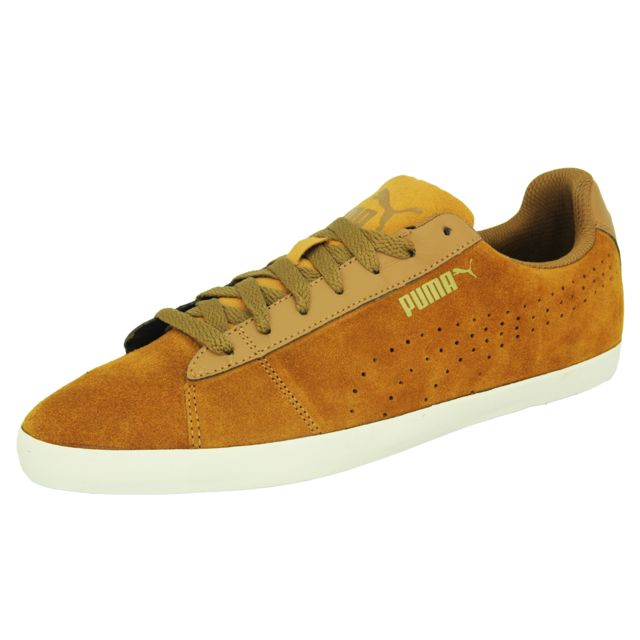 Smash Sd Drizz Chaussures Mode Sneakers Homme Cuir Suede Beige
