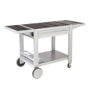 Cook'IN Garden - Desserte bois et métal Media Xl - 147 x 65 x 80 cm