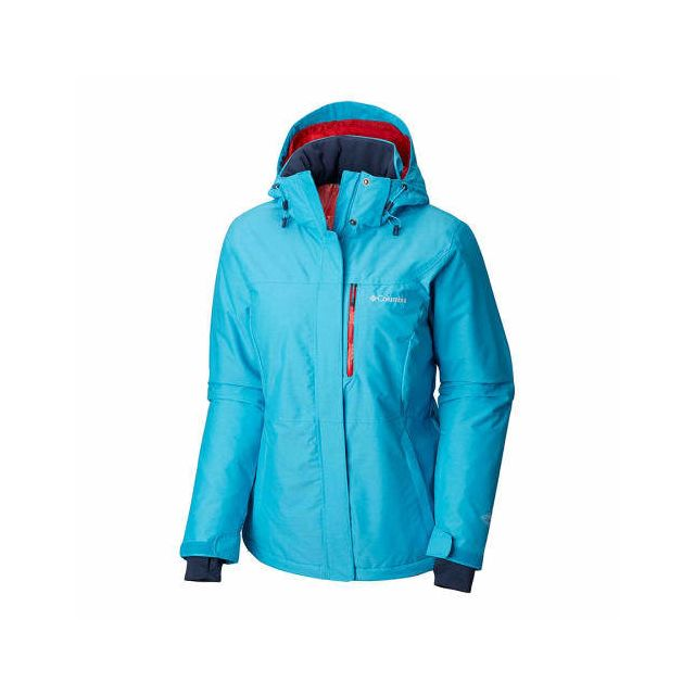 Heat Columbia Alpine Omni clair rouge Action Veste bleu m80wNvn