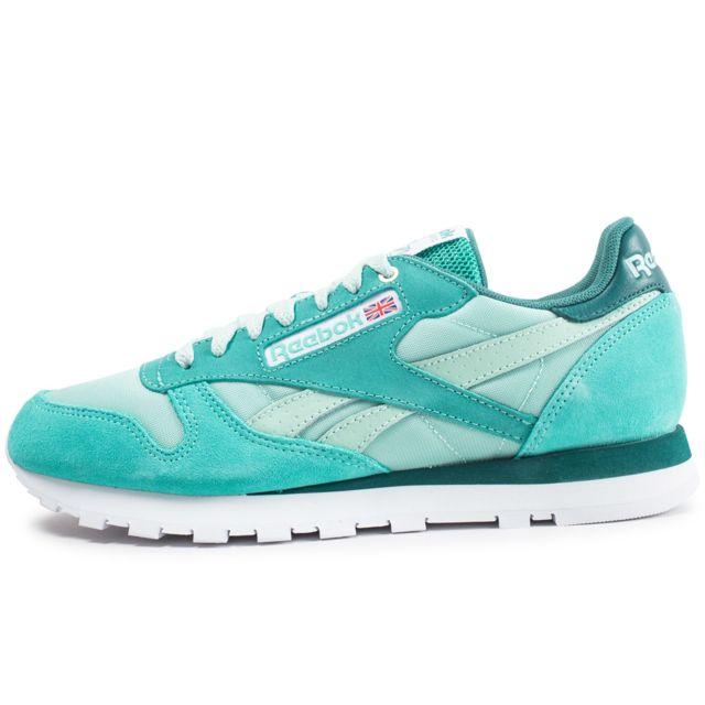 nouvelles chaussures reebok vertes