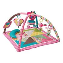 Bkids France - Bkids - Tapis Twist and Fold Rose