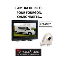 Antarion - Pack Camera de recul écran 7 spécial Fourgon