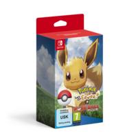 Pokémon : Let's Go, Évoli ! + Poké Ball Plus - Jeu Switch