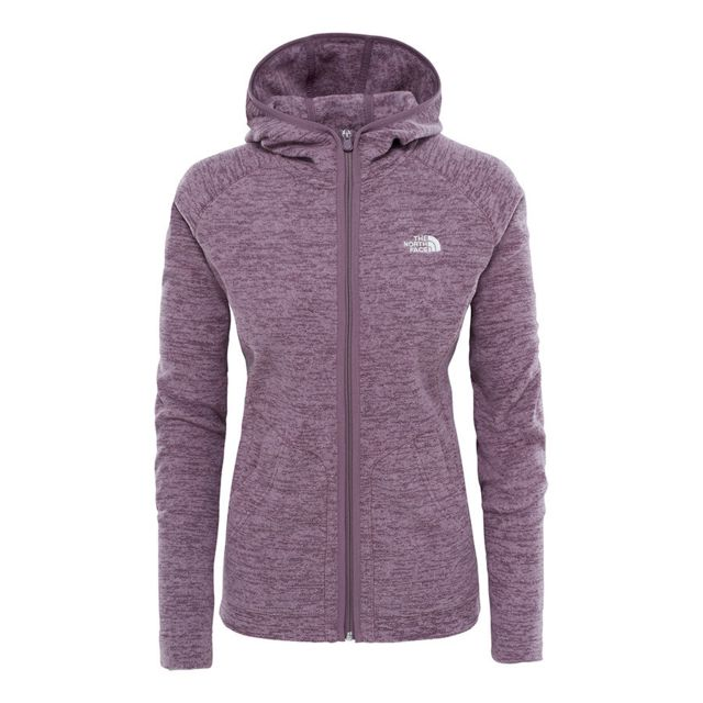 2c34eacfb3 The north face - Polaire Nikster Full Zip lilas femme - pas cher Achat /  Vente Gilets, polaires - RueDuCommerce