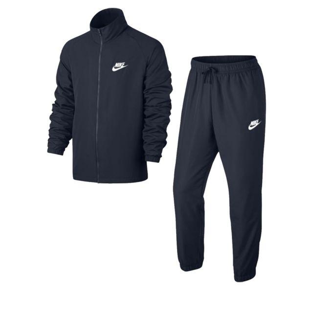 Nike Ensemble de survêtement M Nsw Trk Suit Wvn Basic