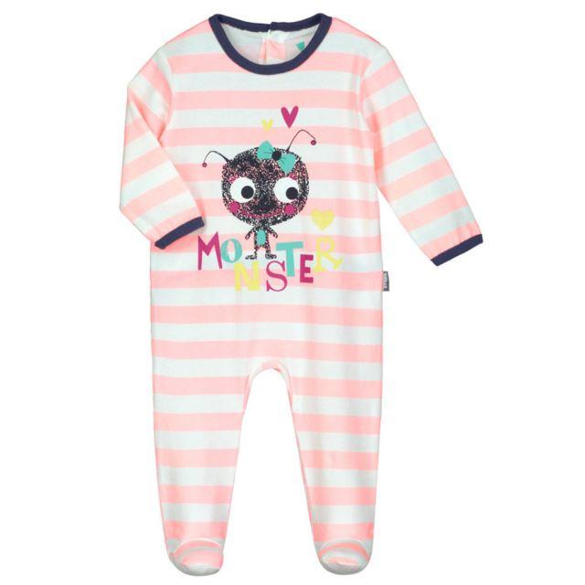 a19284d109a7e Petit Beguin - Pyjama bébé Monster - Taille - 36 mois - pas cher ...