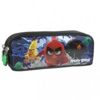 Angry Birds - trousse d'école enfant garçon scolaire trousse de toilette 2 compartiments