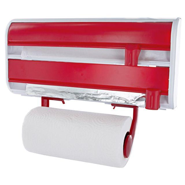 marque generique d rouleur 3 rouleaux mural rouge pas cher achat vente corbeille panier. Black Bedroom Furniture Sets. Home Design Ideas