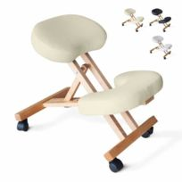 Bodyline - Healt And Massage - Chaise orthopédique de bureau en bois co