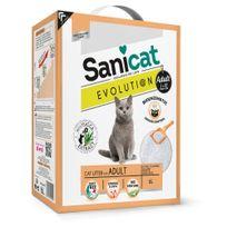 Sanicat - Litière Agglomérante Evolution pour Chat - 6L
