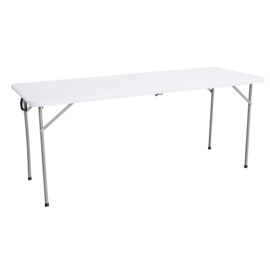Table Pliante Multiusage L 180 M Blanc 447923 à Prix Carrefour