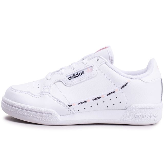 Adidas - Continental 80 Blanche Et Rose Enfant - pas cher ...
