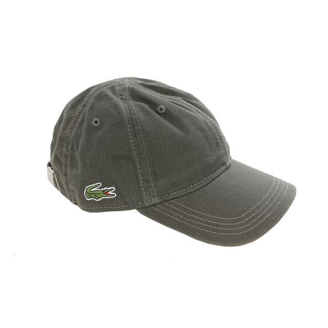 9309e7892f Lacoste - Homme - Casquette baseball baobab small Croco Rk9811 - pas cher  Achat / Vente Casquettes, bonnets, chapeaux - RueDuCommerce