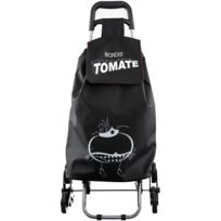 Promobo - Chariot De Courses Shopping A Roulettes Collection Ludique Wonder Tomate 6 Roues