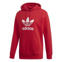 Adidas Hoodie Trefoil pas cher Achat Vente Tee shirts