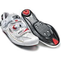 Sidi - Ergo 3 Carbon Blanche Vernie Speedplay Chaussures Vélo route
