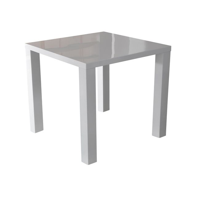 Altobuy Soliste - Table Carrée Blanche