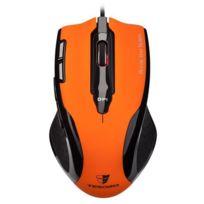 Tesoro - Souris Gaming Shrike H2L Rubber Orange capteur laser 5600 dpi
