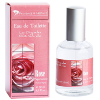 Provence Et Nature - Eau de toilette Rose 50 ml Provence & Nature