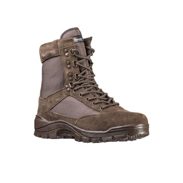 Militec Chaussures Tactical Zip marron - Miltec