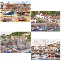 Gibsons - Puzzle 4 x 500 pièces : Ports anglais